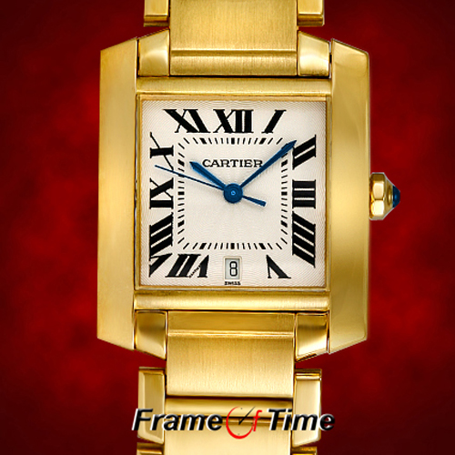 Cartier Tank White Automatic Watches W51002Q3