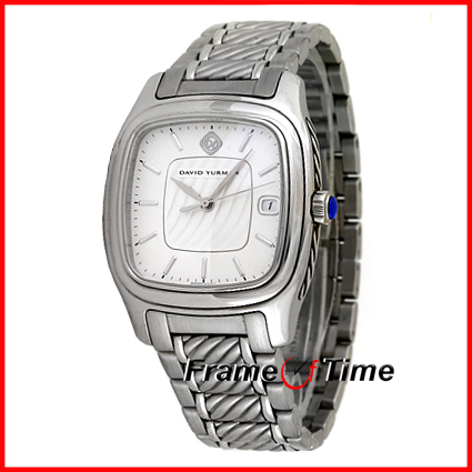untitled document david yurman thoroughbred mens silver automatic watch