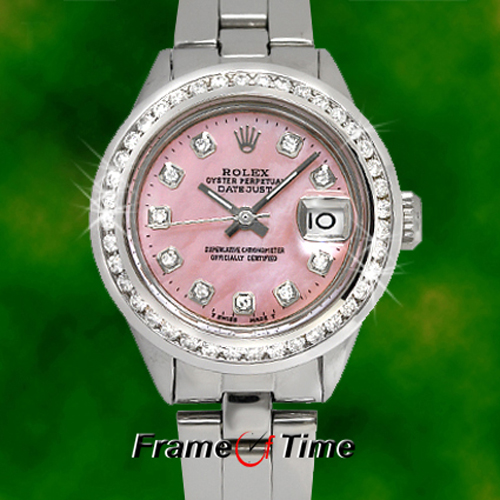 Womens Rolex Replica Lady Datejust 179171WRJ Automatic Stainless Steel