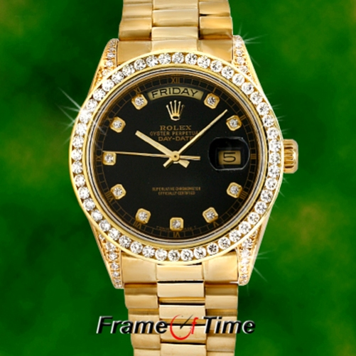 Rolex Gold Diamond Watches