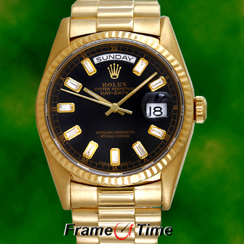 Gold Diamond Rolex For Men